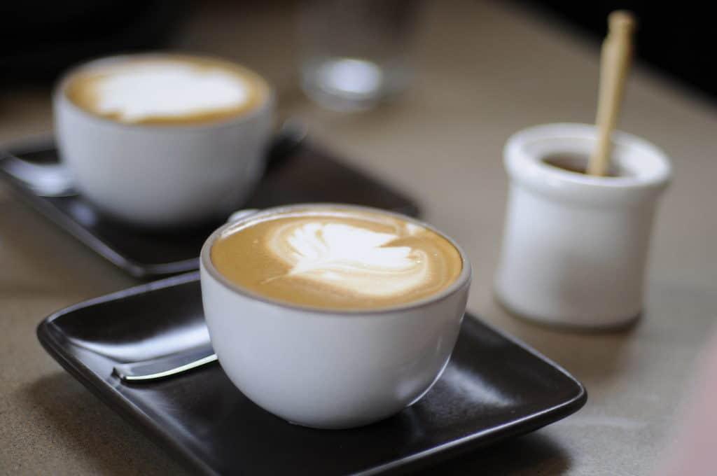 Milky coffee drinks