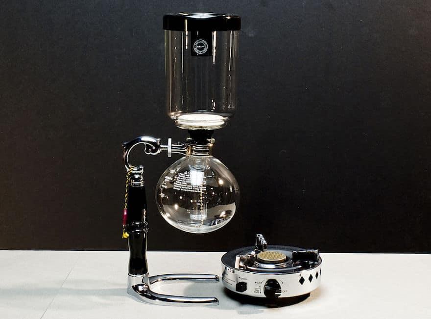 Yama Vacpot vacuum coffee maker