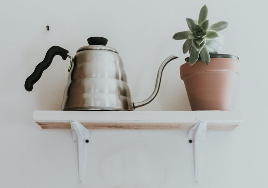Hario pour-over kettle