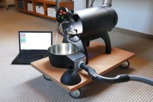 Aillio Bullet R1 coffee roaster