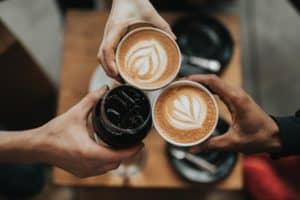 A comprehensive list of the most popular coffee drinks