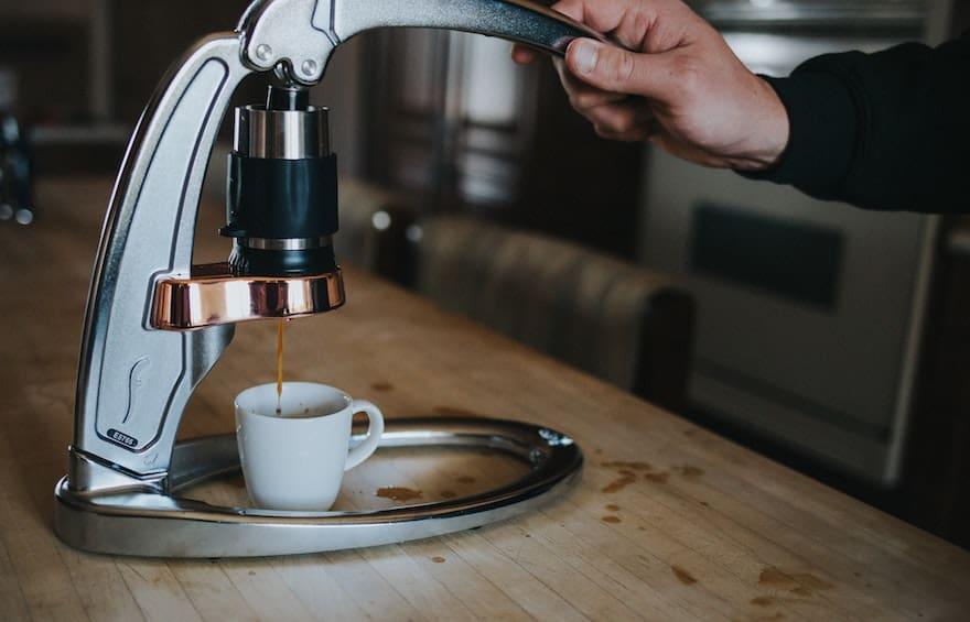 Flair Espresso hand pull espresso maker