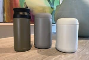 Carter Everywhere Mug vs. Kinto Travel Tumbler
