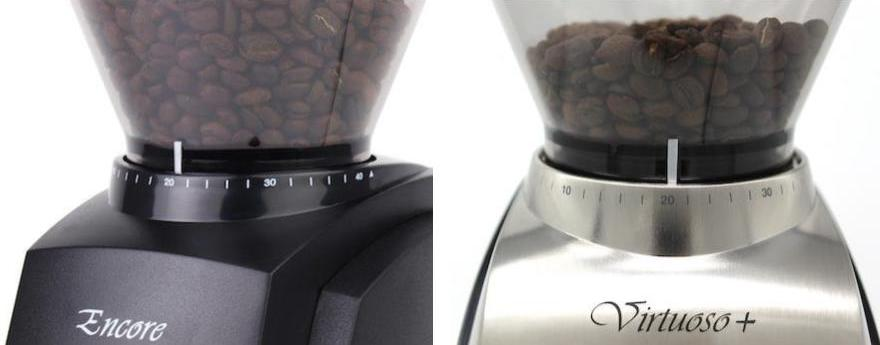 Deciding between the Baratza Encore and Virtuoso+