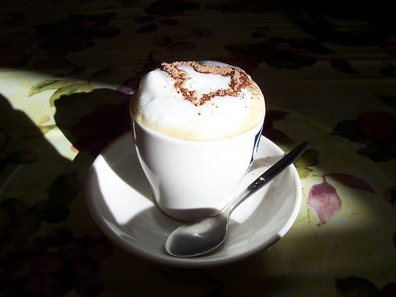 What is a bone dry cappuccino?