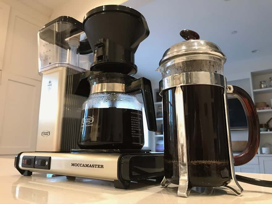 The differences between drip coffee and French press