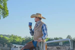 Cowboy coffee will take you back to the frontier