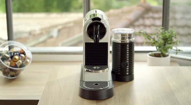 Nespresso CitiZ machine on a very clean countertop