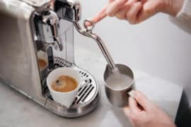 Nespresso Creatista Plus is a machine for the lazy latte artist