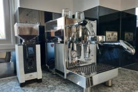 The Bezzera Unica is a great first machine for home baristas