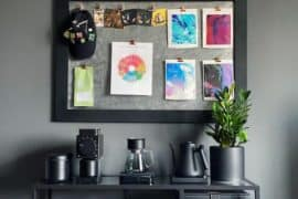 Coffee station ideas for your small space